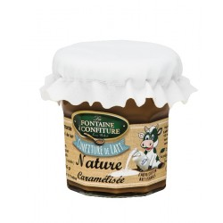 La véritable confiture de Lait Pot 200 gr net nature caramel
